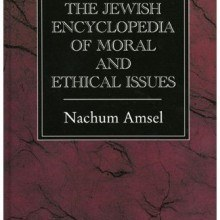The Jewish Encyclopedia of Moral and Ethical Issues