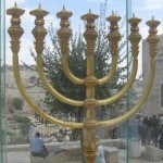 menorah in Jerusalem Old City