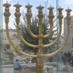 menorah in Jerusalem Old City