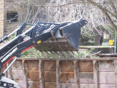 Removing Winter Storm Debris