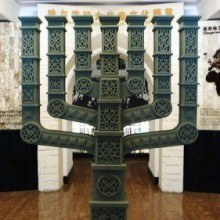 Menorah in Harbin Museum