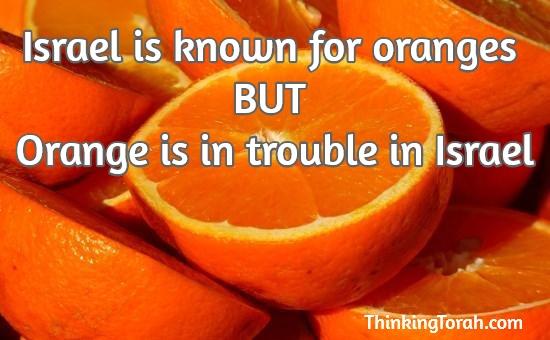 Orange-in-Israel